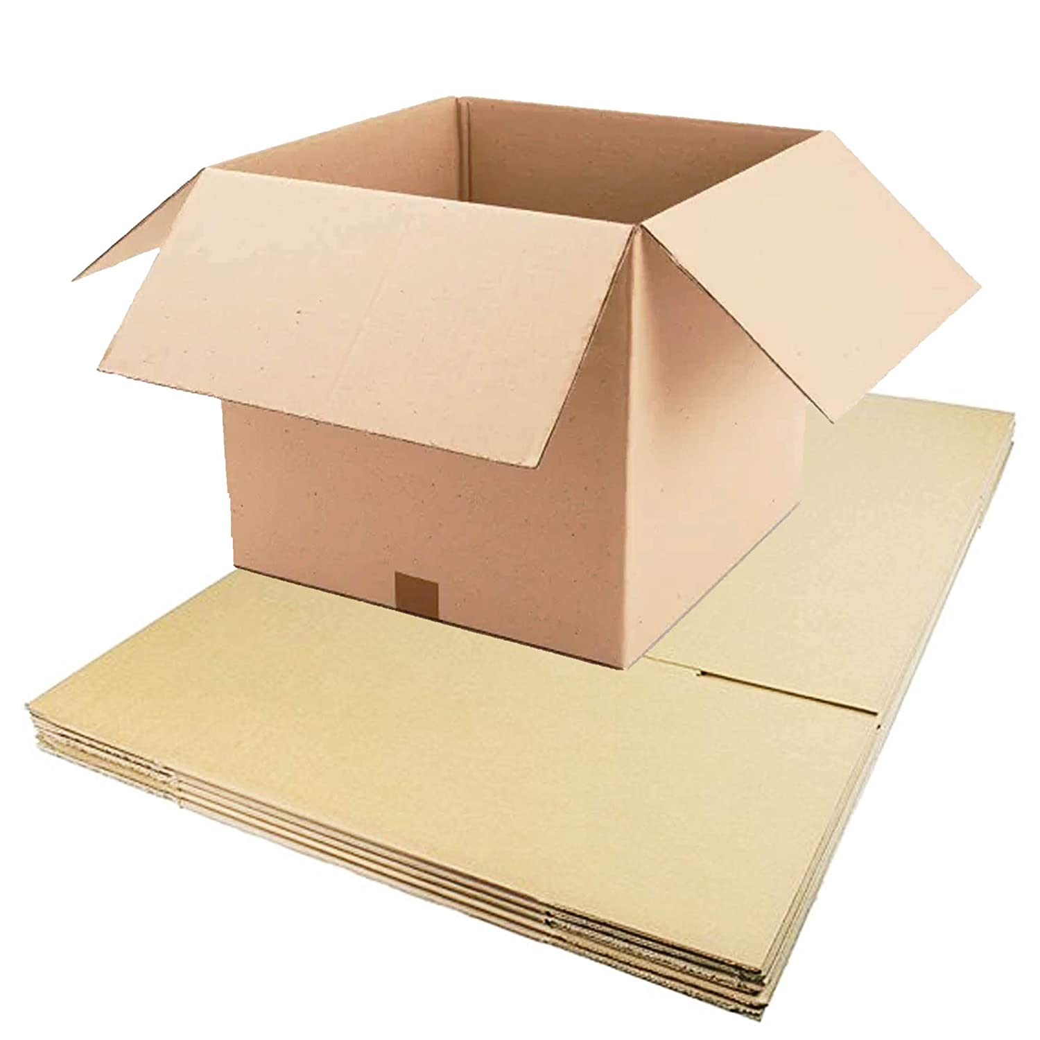 10 x LARGE DOUBLE WALL MOVING CARDBOARD BOXES 24x18x18