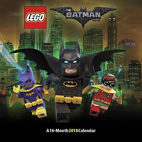 The Lego Batman Movie 2018 Wall Calendar -