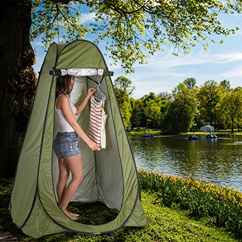 Pop Up Privacy Tent Instant Portable Outdoor Shower Tent