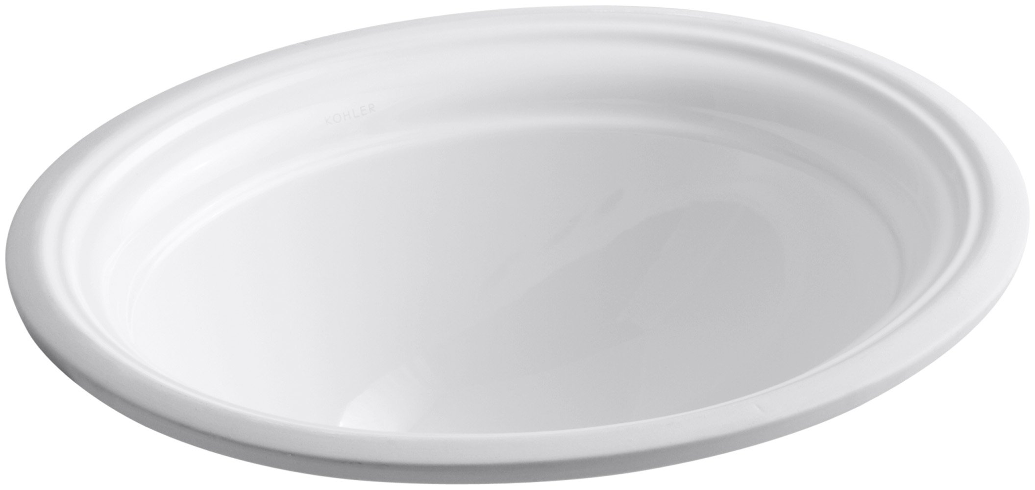KOHLER K-2350-0 Devonshire Undercounter Bathroom Sink, White by Kohler