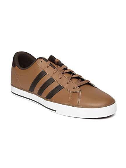 adidas neo Men Brown Daily Sneakers Rs. 3999Che (10UK)  Buy Online ... e147c085f