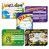 Mixed School Reward Certificates A5 x 100 - Primary Teaching Services