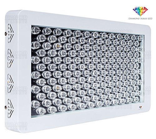 Advanced LED Lights - Full Spectrum LED Grow Light for Indoor Plants Vegs and Flowers - Diamond Series LEDs 300w With USA Made Bridgelux Blue and White 3w LEDs by AdvancedLED Lights