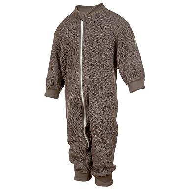 eb527f50d420 Amazon.com  Janus Crinkle Merino Wool Baby Toddler Overall Romper ...