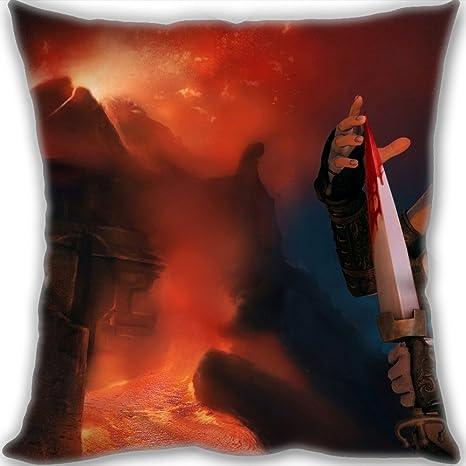 Barato Home decorativo lino funda de almohada de algodón ...