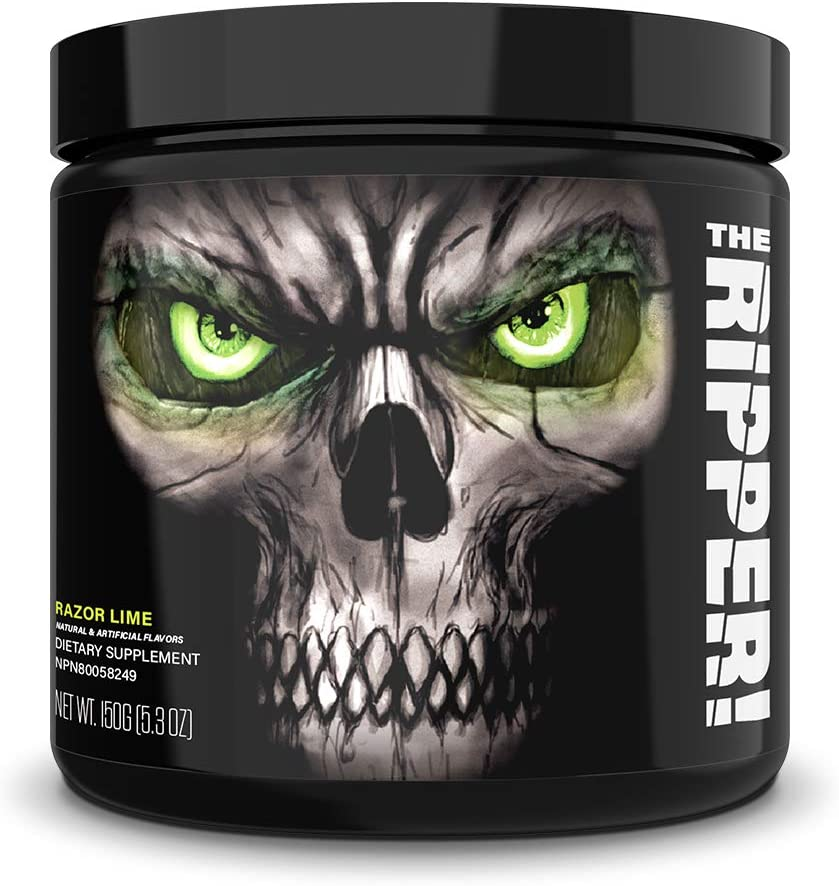 JNX Sports The Ripper! Fat Burner Dietary Supplement with Super Thermogenesis, Appetite Control & Extreme Energy, Men & Women | Razor Lime | 30 SRV: Health & Personal Care