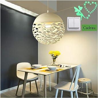 30 cm livre Blanc Abat-jour Plafonnier Lanterne Pendentif boule decor abat-jour