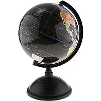 Flameer Desktop World Globe Sphere Kids Educational Learning Globe Toys 25cm & 20cm - Black, 20cm