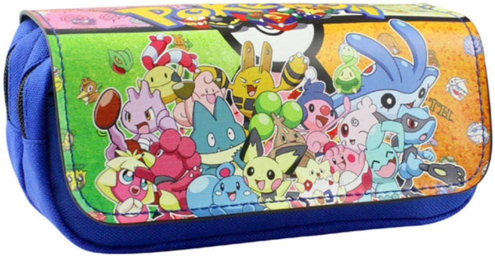 LZJE Bolso con Cremallera Estuche para lápices de Dibujos Animados Estuche para lápices Pokemon Pikachu Útiles Escolares Boutique Regalo de papelería Monedero , como se Muestra en la figu: Amazon.es: Hogar