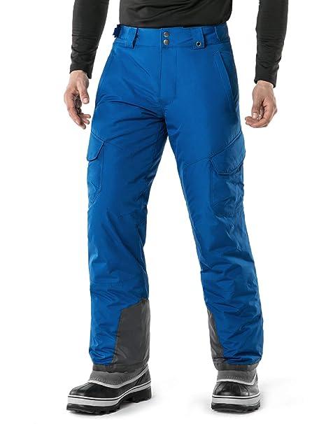 6dd9b16fda Amazon.com   TSLA Men s Rip-Stop Snow Pants Windproof Ski Insulated ...