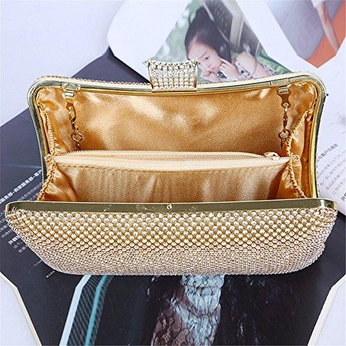 Boucle Main color Gold Pour Sacs L'événement Femmes Magnétique De Gold partie À Lovely Sac Soirée Rabbit 56wWx8p