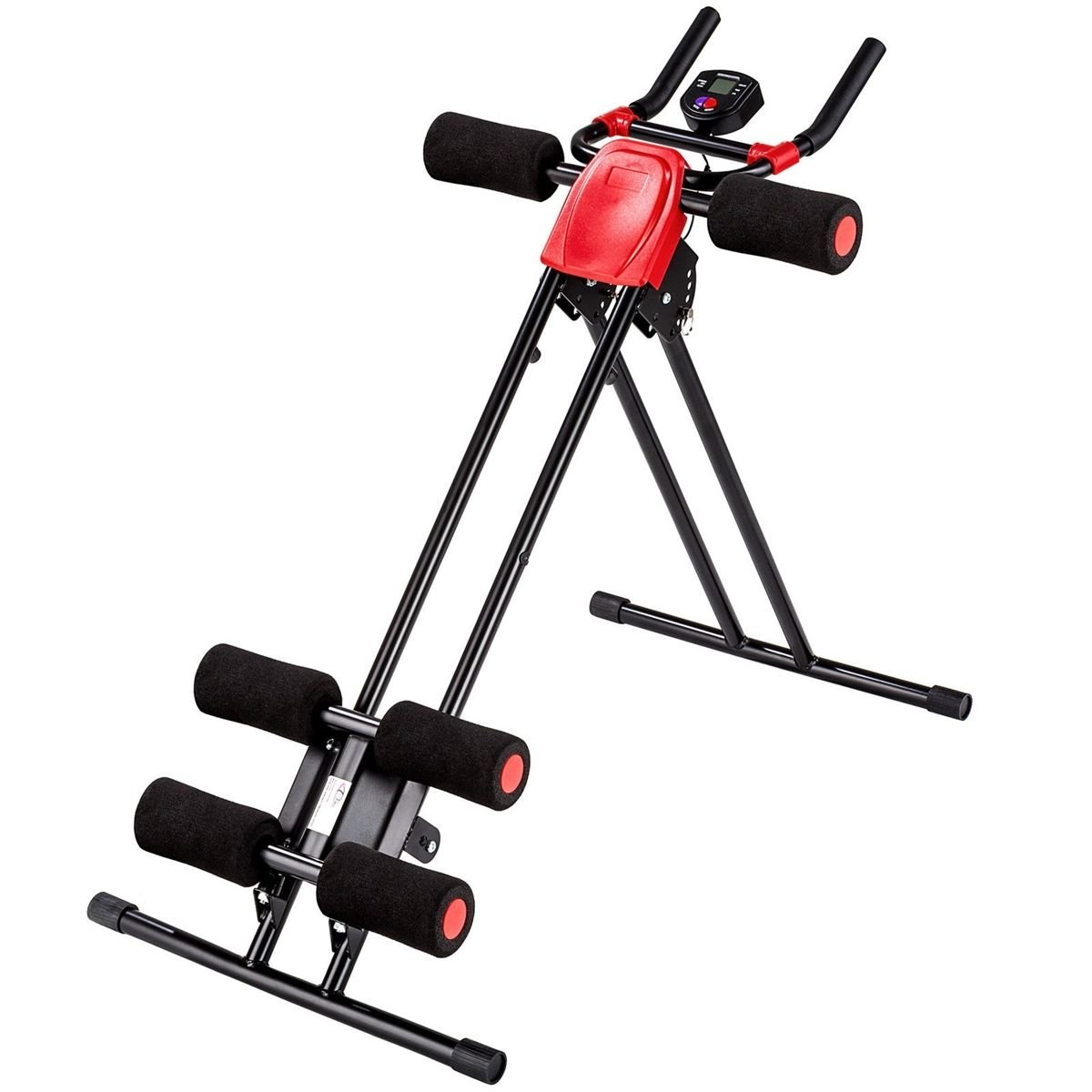 Abdominal Roller Machine AB ABS Gym Muscle Twister Exerciser Trainer Cruncher US