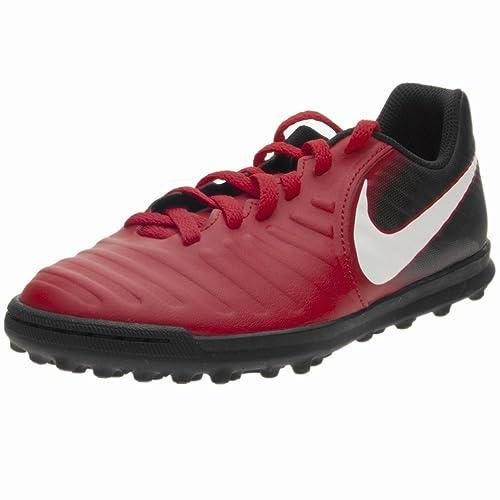 Nike - Zapatillas de fútbol Sala de Material Sintético para niño Rojo Rojo/Negro: Amazon.es: Zapatos y complementos