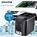 LOWENTHAL Thermoelectric Cooler & Warmer for Vehicle 12V 1.6KG Capacity 6L