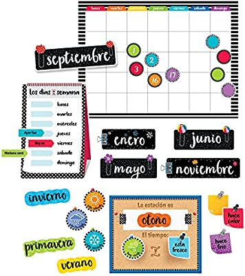 Calendar Days Of The Week In Spanish.Creative Teaching Press Spanish Calendar Bulletin Board Set 8474