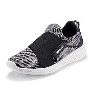 quality design 0a717 708e1 JENN ARDOR Women s Sneakers Tennis Shoes Lightweight Breathable Mesh Slip  on Soft Workout Running Walking Athletic