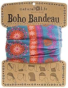 Natural Life Boho Bandeau Band, Pink/Purple