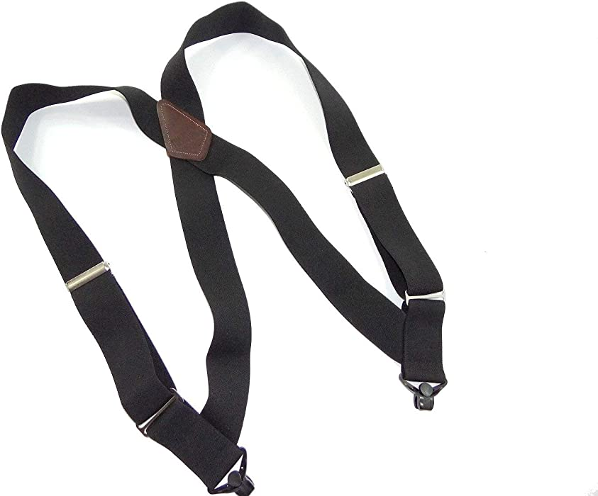 c1c2953d250 Hold-Up Black Hip-clip Style Suspenders 1 1 2