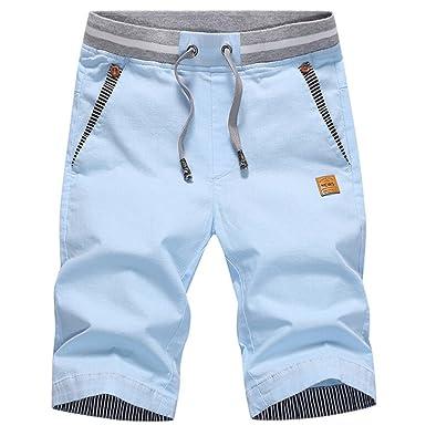 f50a8d55b2 Jinmen Men's Surf Wear Swim Trunks Board Short (28/29, Blue)