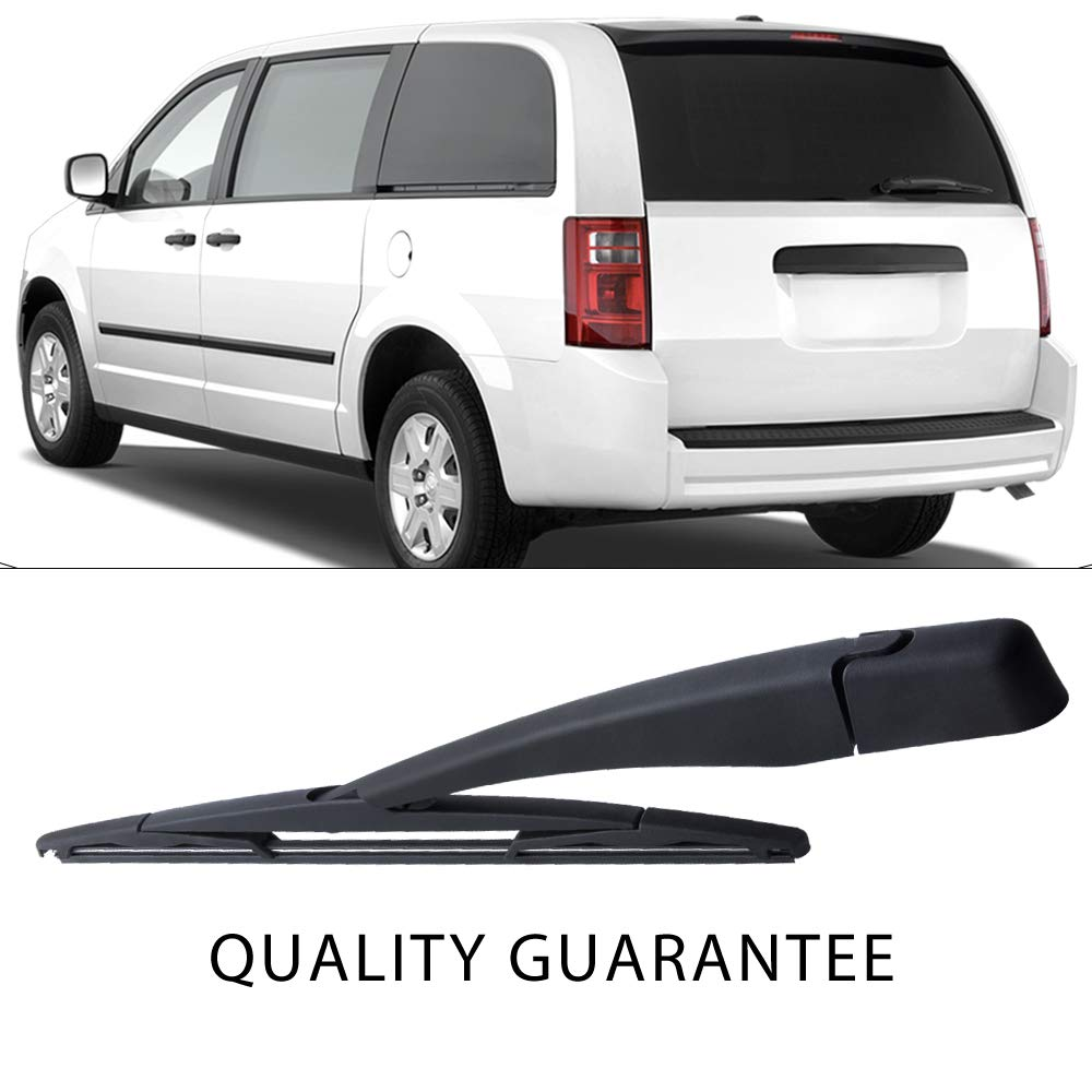 Rear Windshield Back Wiper Arm blade Set For 2008-2015 Dodge Grand Caravan 2008-2009 Chrysler Town /& Country