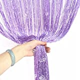 Decorative String Line Tassel Curtain With Beads Door Window Panel Room Divider