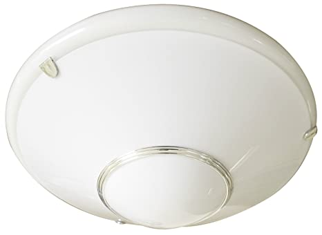 Plug-in Circular Fluorescent Light Fitting with Opal Diffuser