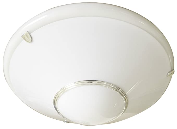 Plug In Circular Fluorescent Light Fitting With Opal
