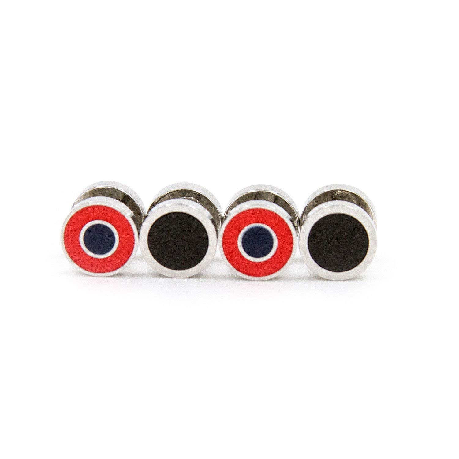 Section 119 Donut Double Sided Tuxedo Studs