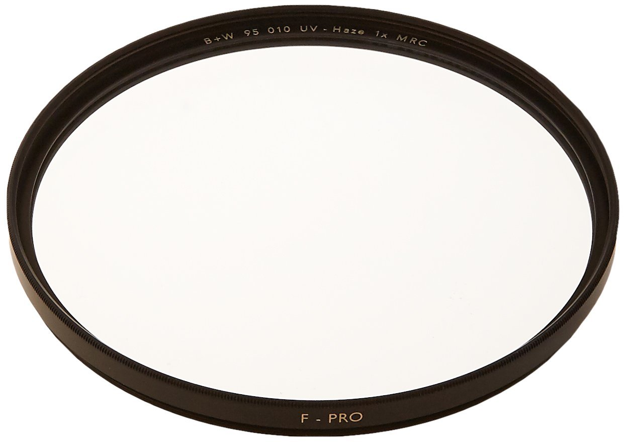B+W 95mm Clear UV Haze with Multi-Resistant Coating (010M) by B+W