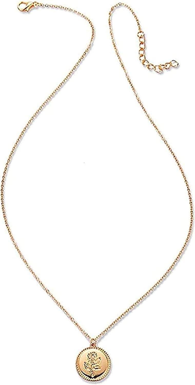 ZHIFUBA Co.,Ltd Collar Collar de Perlas con Estructura de Concha Collar y Colgante en Capas para Mujer Regalo para Mujer