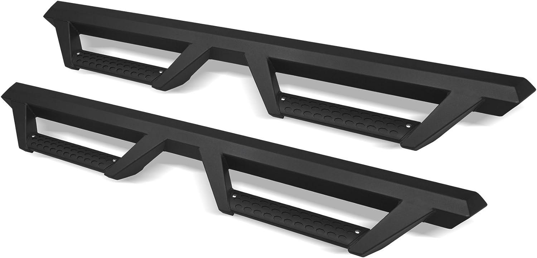Matte Black Armordillo USA 7169401 AR Drop Steps Fits 2009-2018 Dodge Ram 1500 Quad Cab