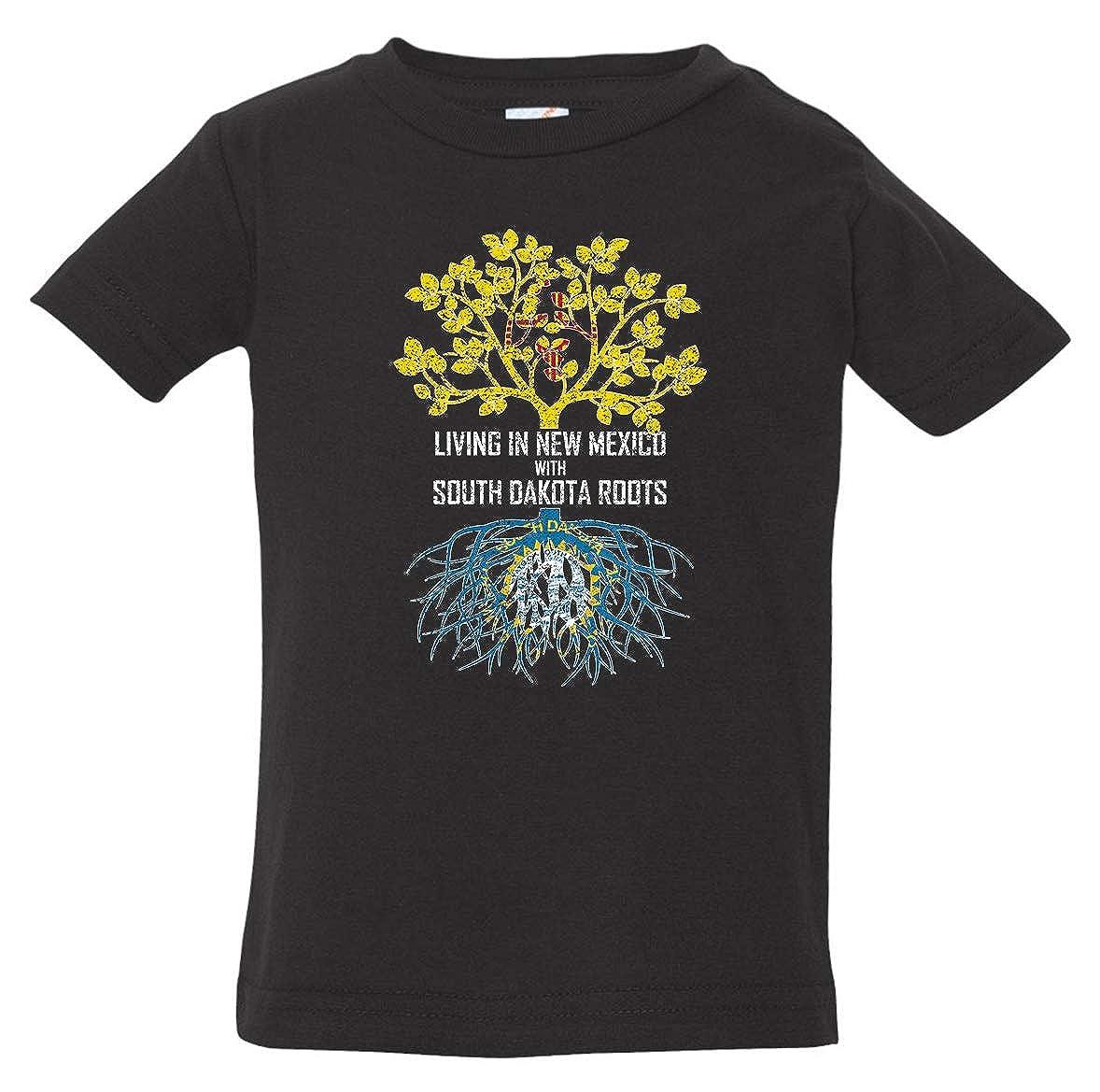 Tenacitee Babys Living in Mexico South Dakota Roots Shirt