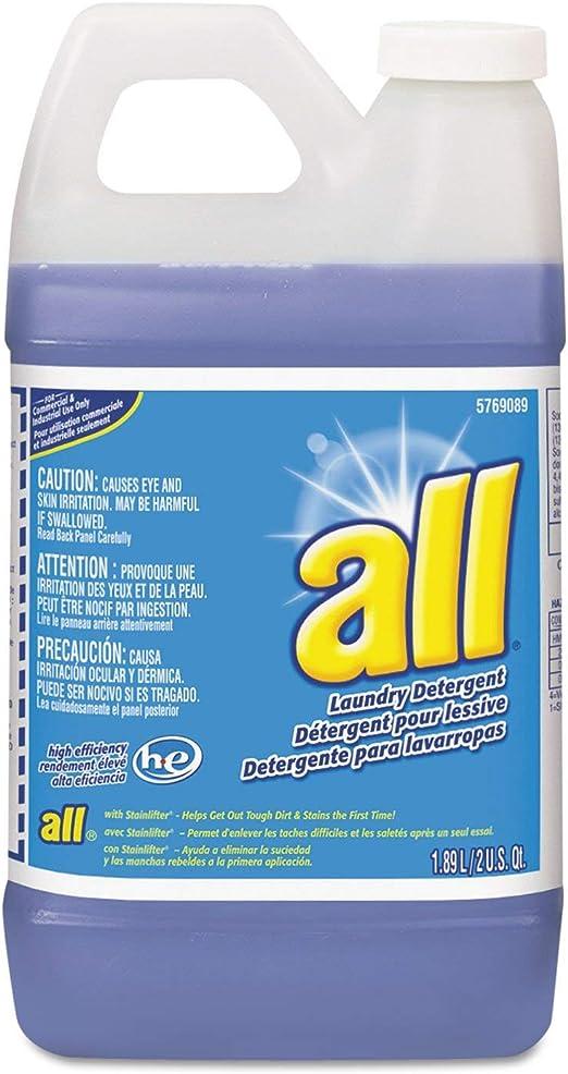 Todos los detergente líquido concentrado, 64 oz. (drk5769089 ...