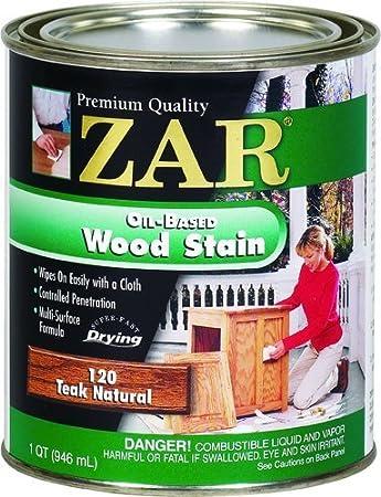 ZAR 12012 Tinte para madera, teca natural por ZAR: Amazon.es ...