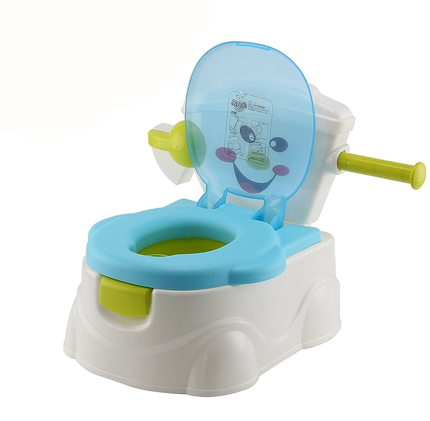 AllRight Kids Toilet Training Seat - Fun Toddler Baby Travel Potty Trainer Seat with Splash Guard – Removable Parts & Portable oem
