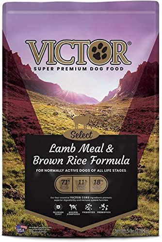 Victor Dog Food Select Lamb Meal And Brown Rice