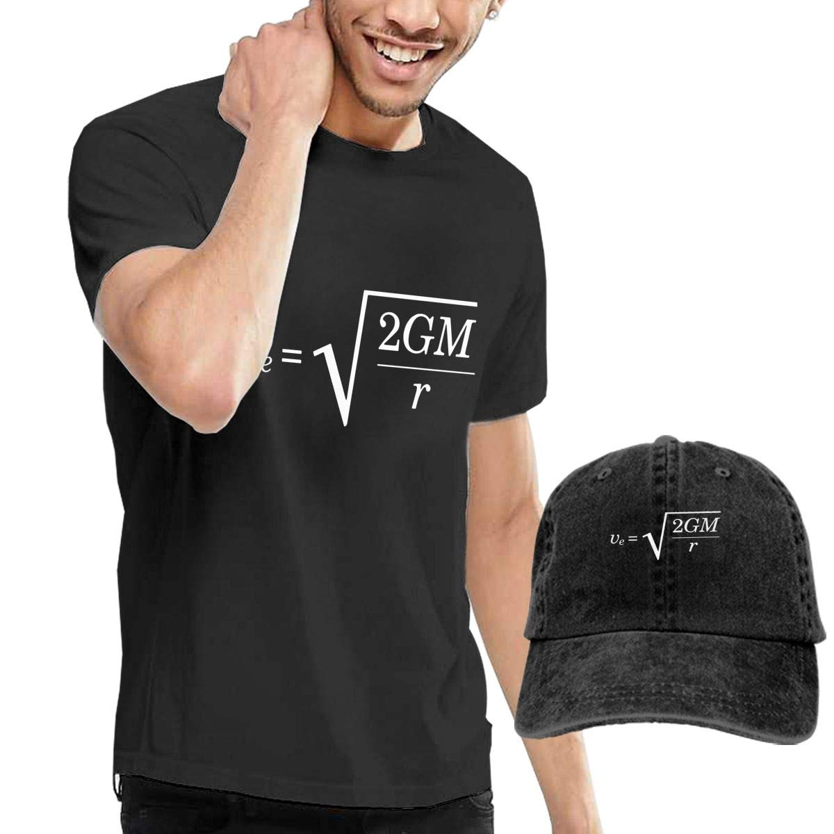 WWTBBJ-B Escape Velocity Adult Mens Summer T Shirts and Outdoor Jean Headgear