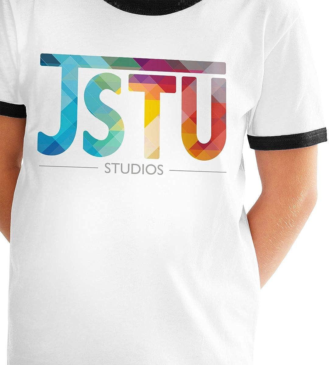 dreamering MoreJStu Teenager Junior Boys Girls Youth Short Sleeve T Shirt Tee Contrast Shirts