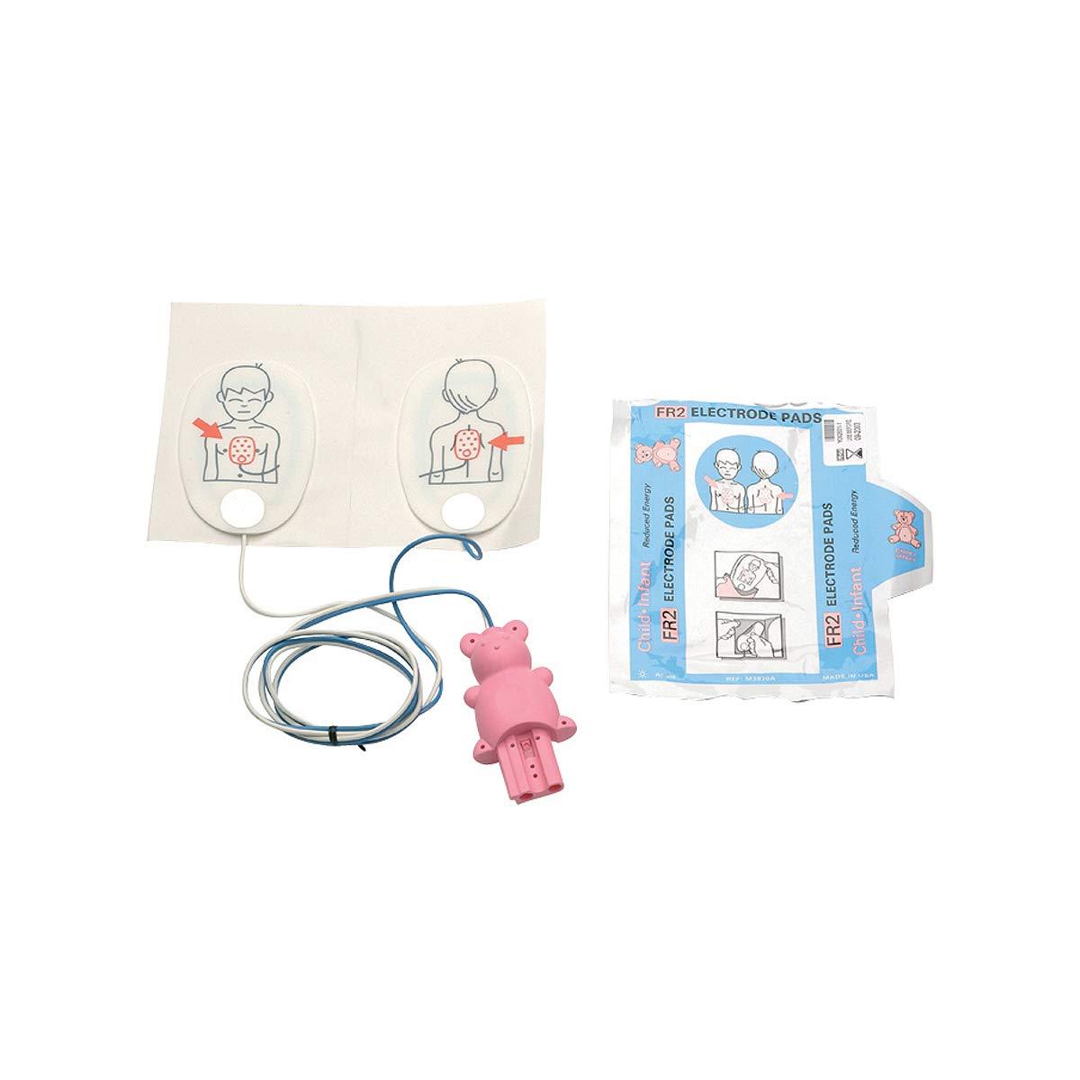 Philips - Almohadillas para desfibrilador de pediatría