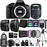 Canon EOS Rebel T6i SLR Camera 24.2mm with 18-55 STM Lens and Ultimate Accessory Bundle
