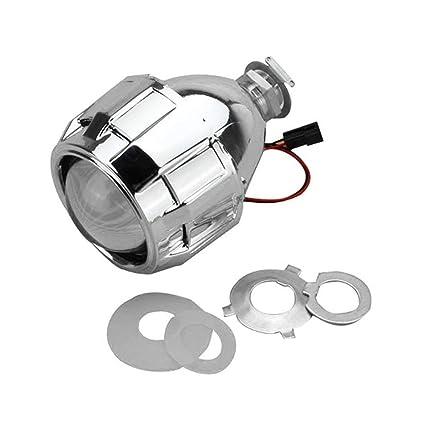 2.5 pulgadas Xenon Mini Bi-xenon HID Clear Proyector Tapa de la ...