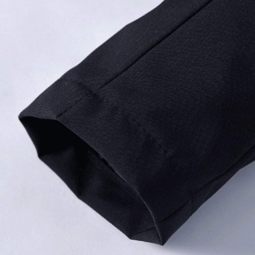 kaimus Giacca Lunga da Uomo con Tasca a Cerniera Manica Lunga con Cappuccio Antivento Cappotti