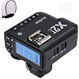 Godox X2T-C TTL Wireless Flash Trigger for Canon, Bluetooth Connection, 1/8000s HSS,5 Separate Group Buttons, Relocated…