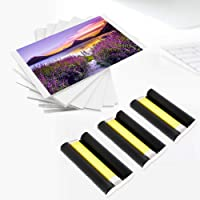 MarkField Selphy KP-108IN Photo Paper 3 Color Ink Cassette / 108 Sheet Compatible with Canon Selphy CP Series Photo Printers CP1300 CP1200 CP1000 CP780 CP790 Ink and Paper Postcard Size 100 x 148mm