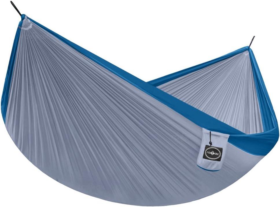 Raqpak Travel Hammock Double Lightweight Parachute Nylon Camping Gear