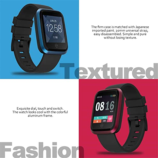 Amazon.com: Zeblaze Crystal 2 Smartwatch IP67 Waterproof ...