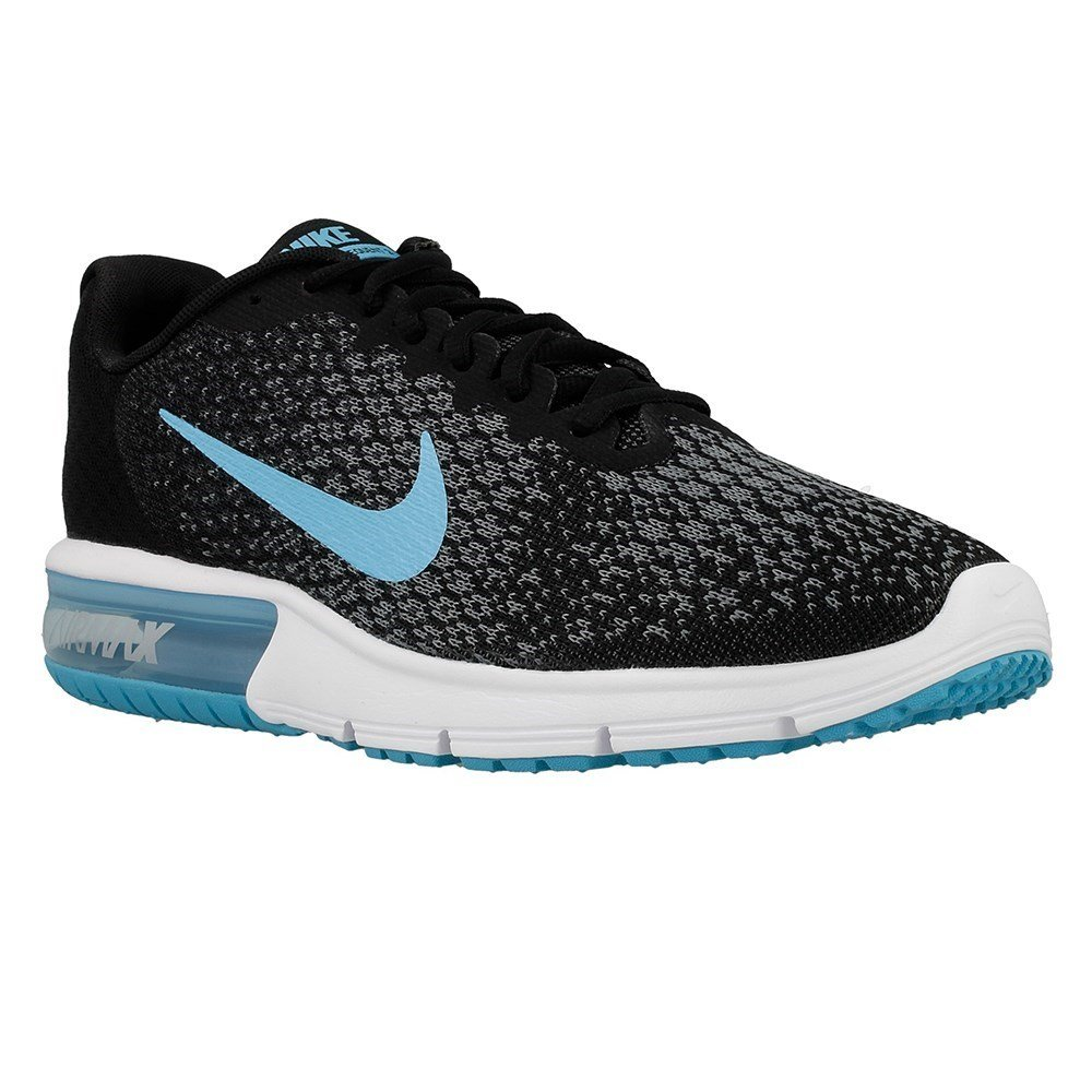 ff5c17c5aaaa9 Nike Men s Air Max Sequent 2 Blk Chlrn Blue-Anth-C.Gry Running Shoes-7  UK India(41 EU)(8 US) (852461-004)  Buy Online at Low Prices in India -  Amazon.in