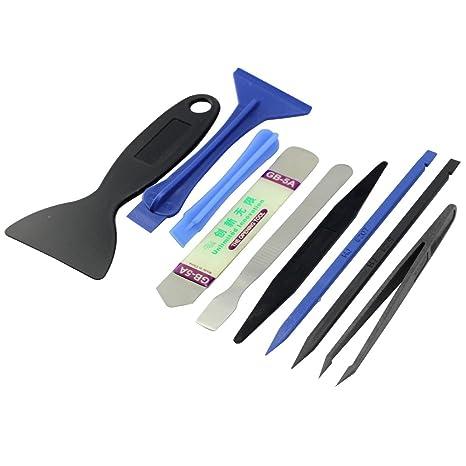 E. Durable kit de herramientas de reparación movil Herramientas ...