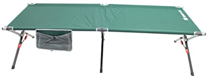 best authentic 1cba3 cd219 Rio Gear Portable XL Smart Cot Military Style Folding Camping Cot