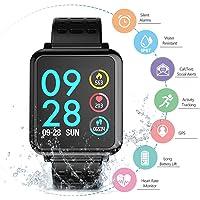 Smartwatch Pulsera Inteligente, WINSUNY Reloj inteligente deportivo Bluetooth Smart Watch Multifuncional Smartband monitor de actividad Rastreador de fitness IP67 Impermeable fitness tracker para Hombres, Mujeres